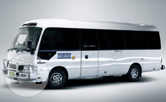 Deluxe Mitsubishi Rosa Coach Coach Bus / Brisbane City, QLD   / Hourly AUD$ 0.00