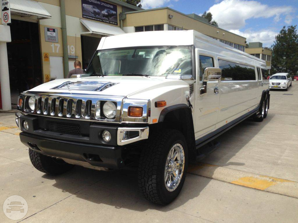 WHITE STRETCH HUMMER Hummer  / Surfers Paradise, QLD   / Hourly AUD$ 0.00