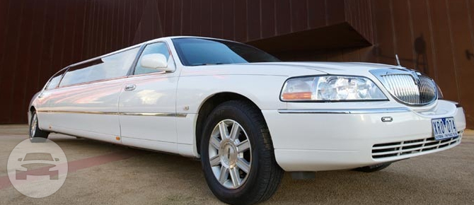 Lincoln Limousine-white Limo  / Mornington VIC 3931, Australia   / Hourly AUD$ 340.00