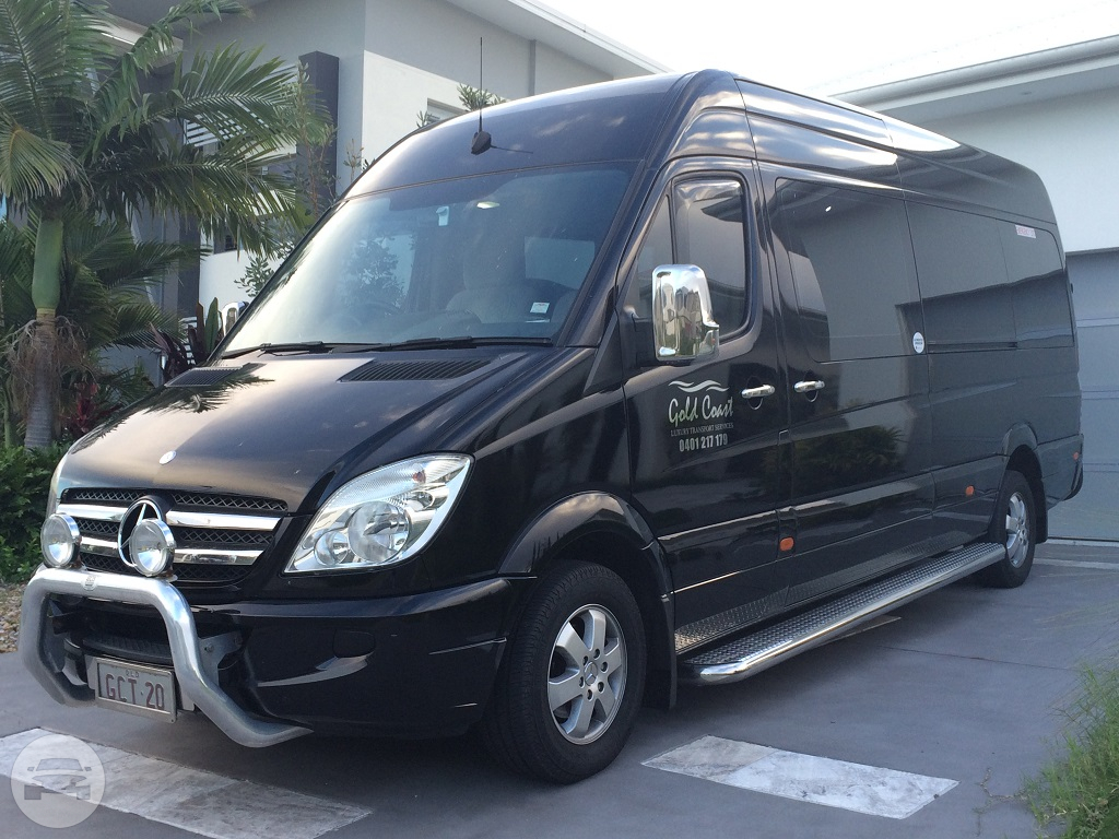 BLACK MERCEDES SPRINTER PARTY BUS Party Limo Bus  / Surfers Paradise, QLD   / Hourly AUD$ 0.00