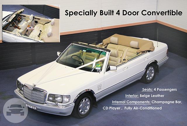 Mercedes 4 Door Convertible Hills District Prestige Limousines